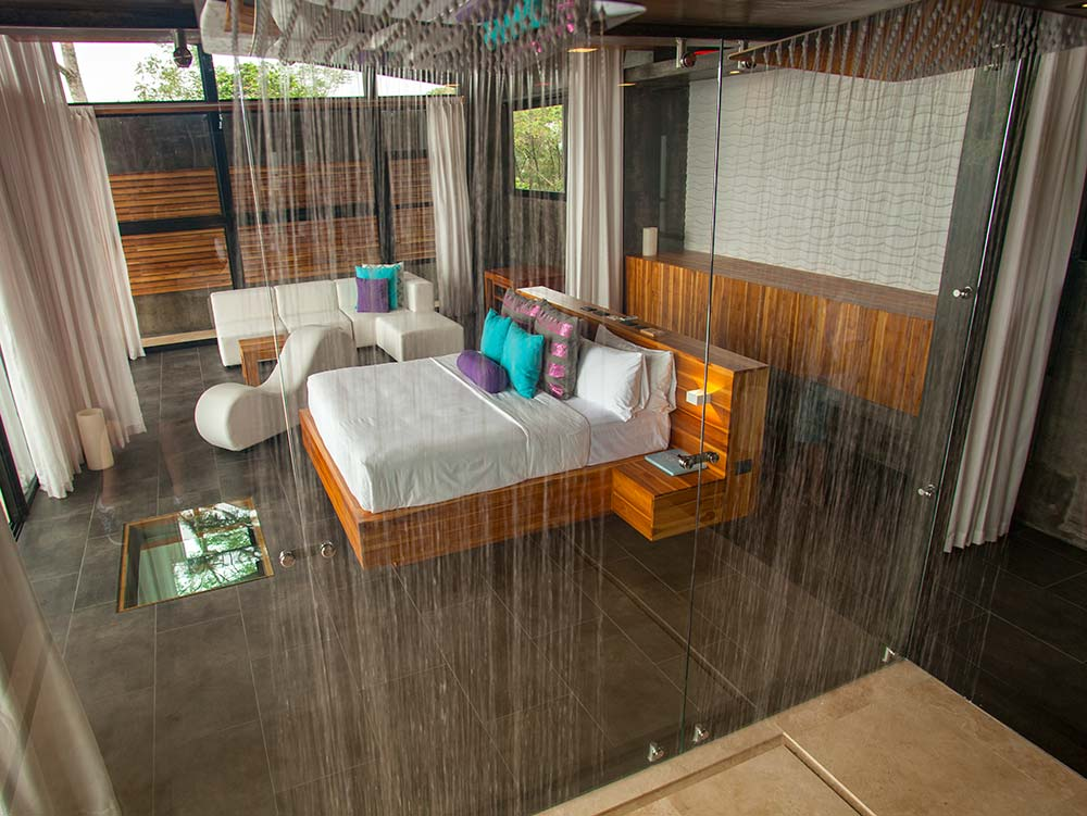 Master Suites – Double Rainfall Showers